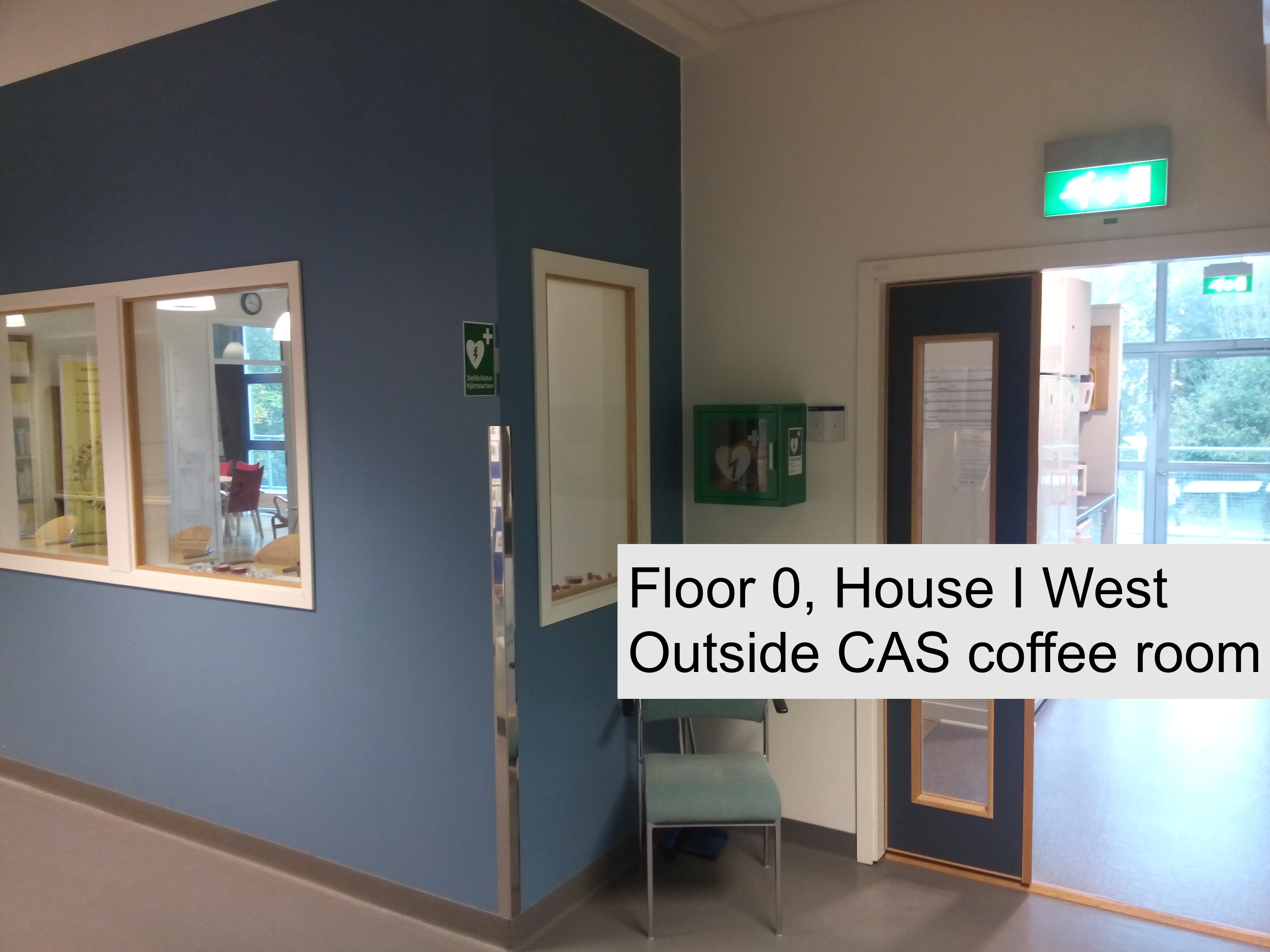 Casualty Room In Hospital In American English